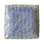terrafirma ceramics 13 sq braid cobalt