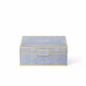 aerin blue shagreen box