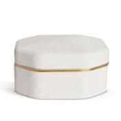 aerin octagonal shagreen box