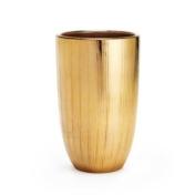 textured gold vase aerin