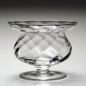 Spiral Footed Bowl