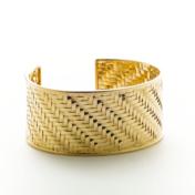 18 kt Gold Cuff Bracelet