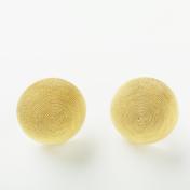 18kt Gold Domed Earrings
