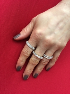 Diamond Eternity Bands by Elizabeth Bruns Jewelers