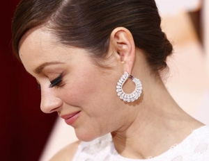 diamond earrings 2015 oscar jewelry