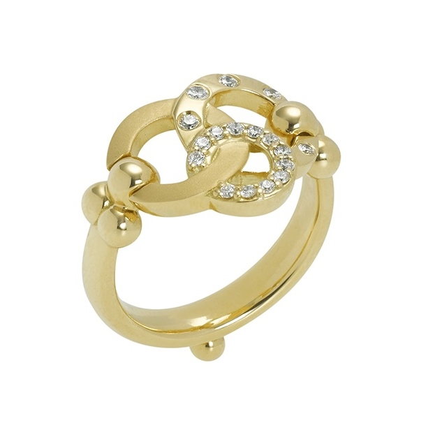 18kt gold orbit ring elizabeth bruns inc