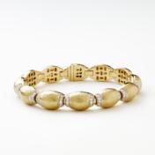 Hammered Gold Bracelet