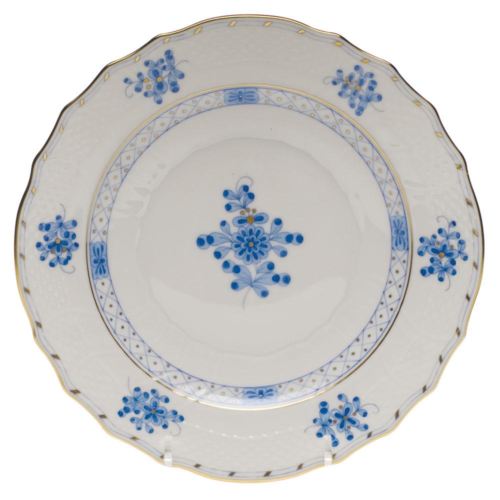Blue Garden Salad Plate Elizabeth Bruns Inc