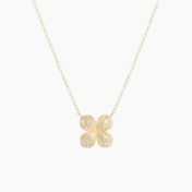 jamie wolf pave flower necklace