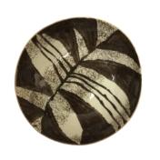 chestnut zebra med serv top