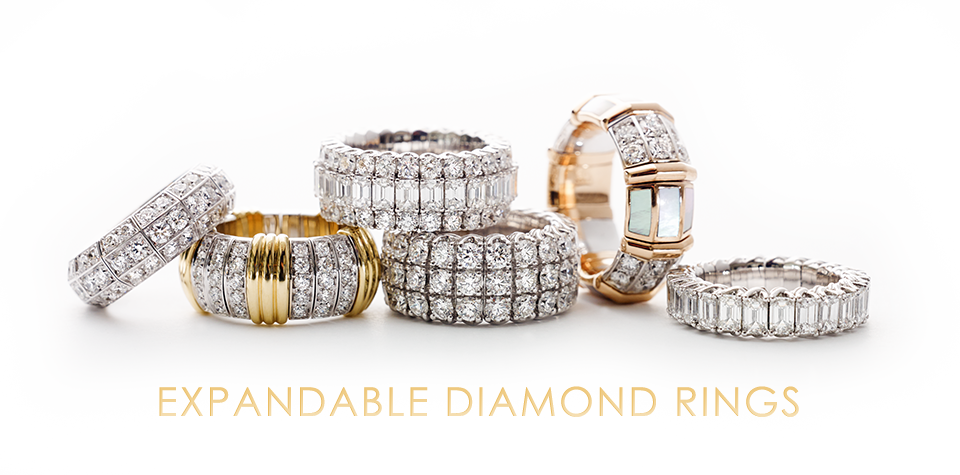 Diamond Ring Expandable