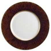 Toroise Gold Rim Dessert Plate