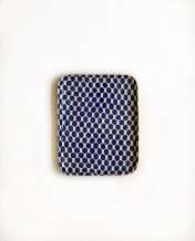 Tidbit Tray Dot Cobalt