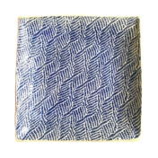 terrafirma ceramics 13 sq braid cobalt