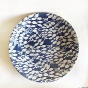16 inch Centerpiece bowl Aspen Cobalt overhead