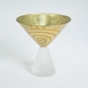 Stemmed Dessert Glass Swirl