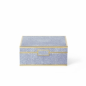 aerin blue shagreen box