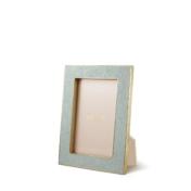 AERIN Mist shagreen frame