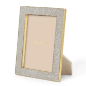 Aerin Dove Shagreen 5x7 frame