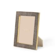 aerin chocolate classic shagreen frame 5x7
