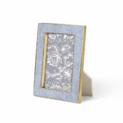 aerin blue shagreen frame