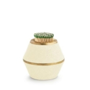 aerin cream shagreen match striker