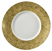 Big Bang Gold Dinner Plate