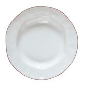 Skyros Cantaria white rim soup