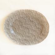 Medium Oval Braid Chestnut