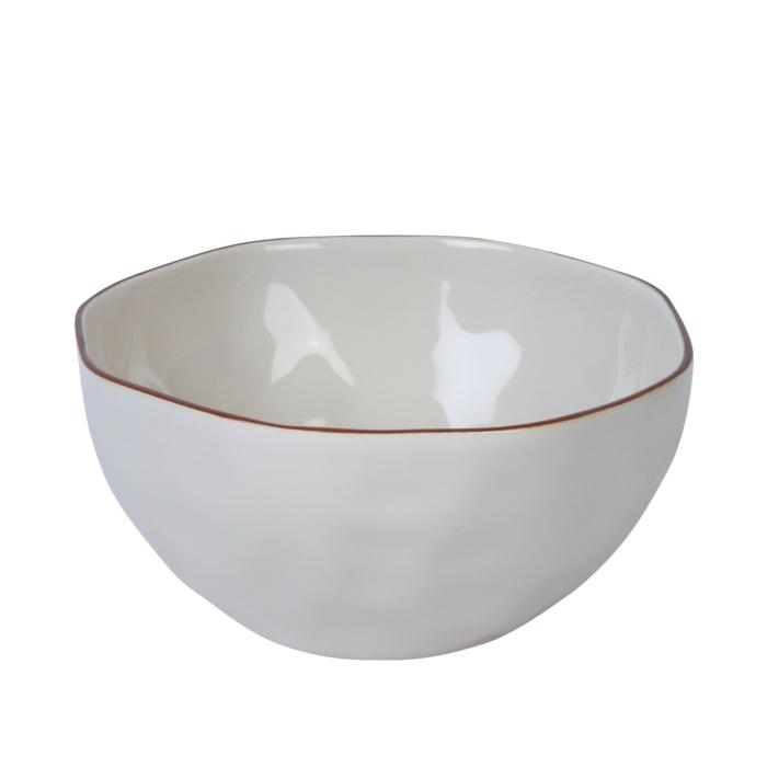 skyros cantaria white cereal bowl