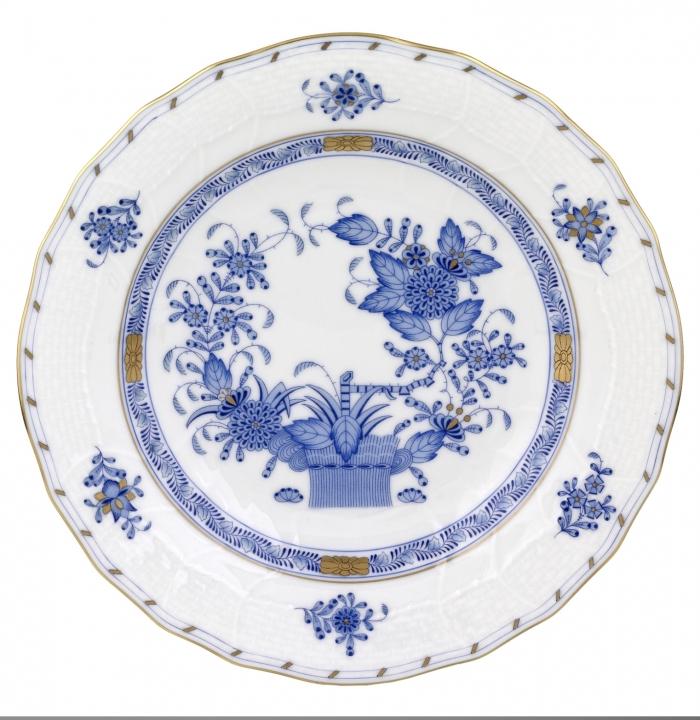 Indian Basket Blue Dessert