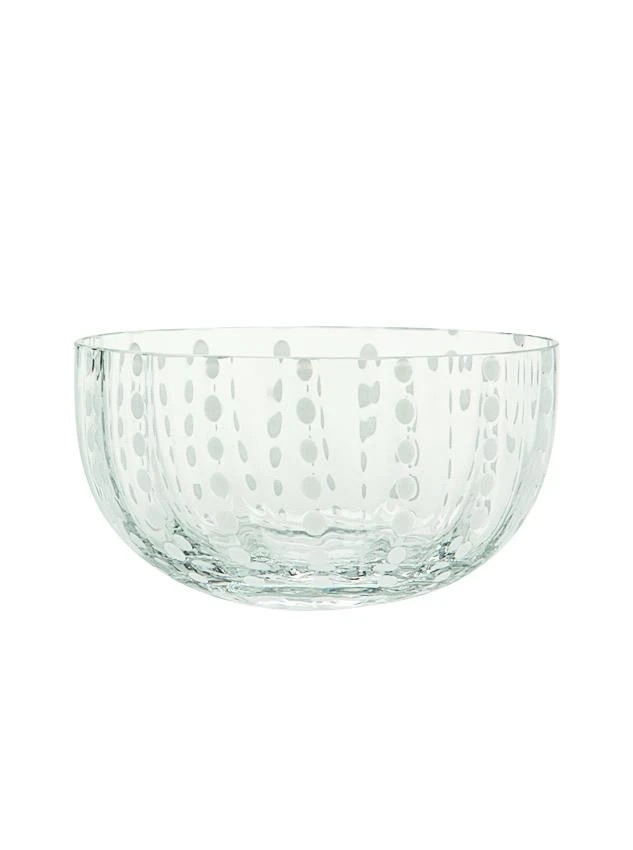 Perle Large Bowl in Clear