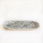 Small fish Platter Aspen Charcoal