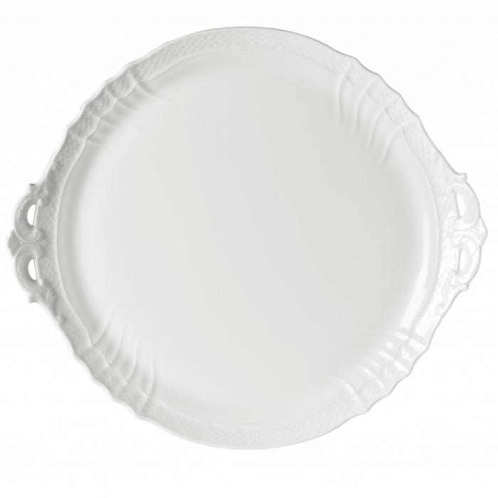 Vecchio Ginori White Cake Plate