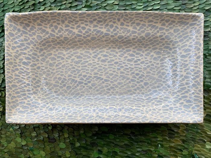 Asparagus Platter Pebble Opal