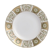 Derby Panel Green Dinner Plate