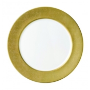 Service Plate Gold Band Service Plate