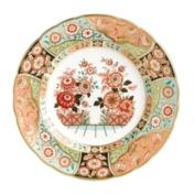 Imari Accent Plates Regency Flowers Plate