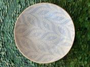 """8"""" Bowl Paisley Opal"""