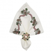 Holiday Bough Napkin