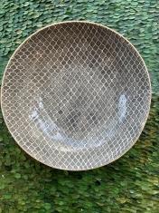 Medium Serving Bowl Taj Charcoal