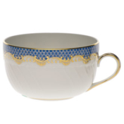 Fish Scale Blue Canton Cup