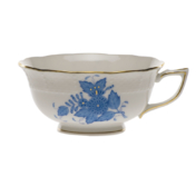 Chinese Bouquet Blue Tea Cup  (8 Oz)