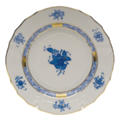 "Chinese Bouquet Blue Bread & Butter Plate  6""D"