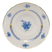 "Chinese Bouquet Blue Dessert Plate  8.25""D"
