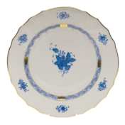 "Chinese Bouquet Blue Dinner Plate  10.5""D"