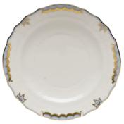 "Princess Victoria Light Blue Salad Plate - Lt Blue 7.5""D"