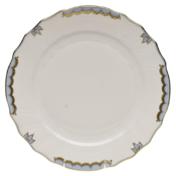 """Princess Victoria Light Blue Dinner Plate - Lt Blue 10.5""""D"""
