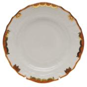 "Princess Victoria Rust Bread & Butter Plate - Rust 6""D"