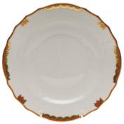 "Princess Victoria Rust Salad Plate - Rust 7.5""D"